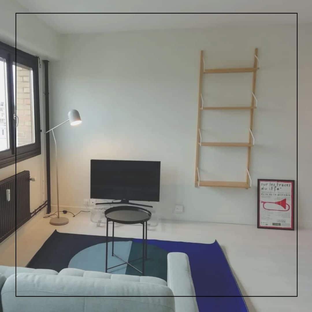 Rénovation et décoration d'un studio pour location