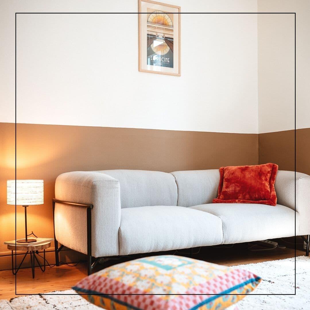 Rénovation et décoration d'un appartement T2 pour location meublée